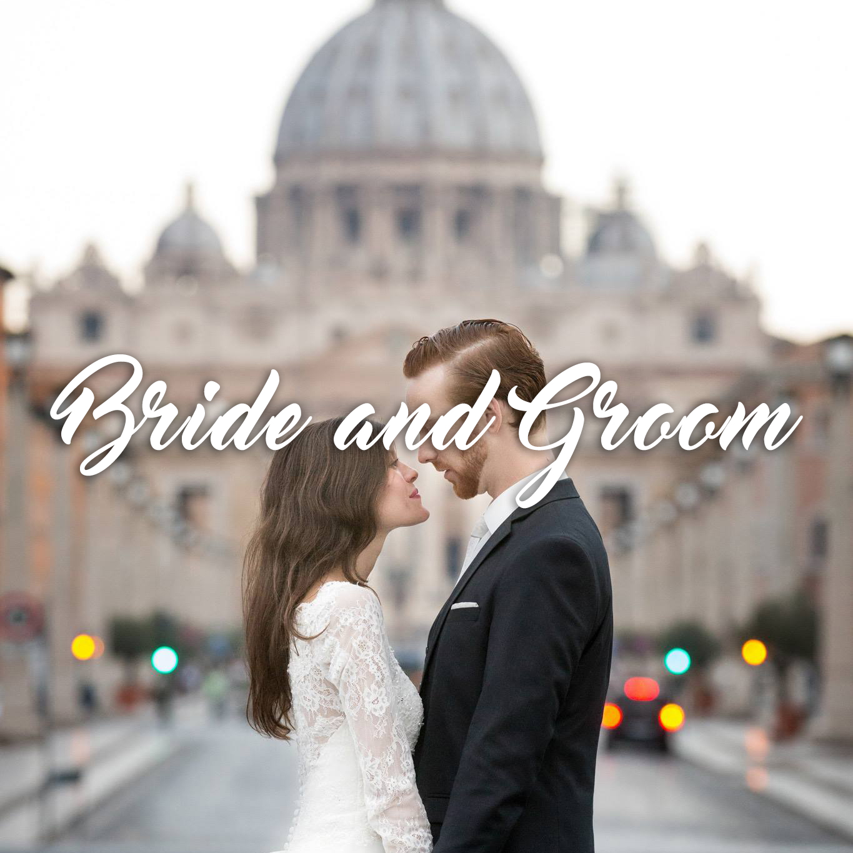 Bride and Groom by Fabio Schiazza